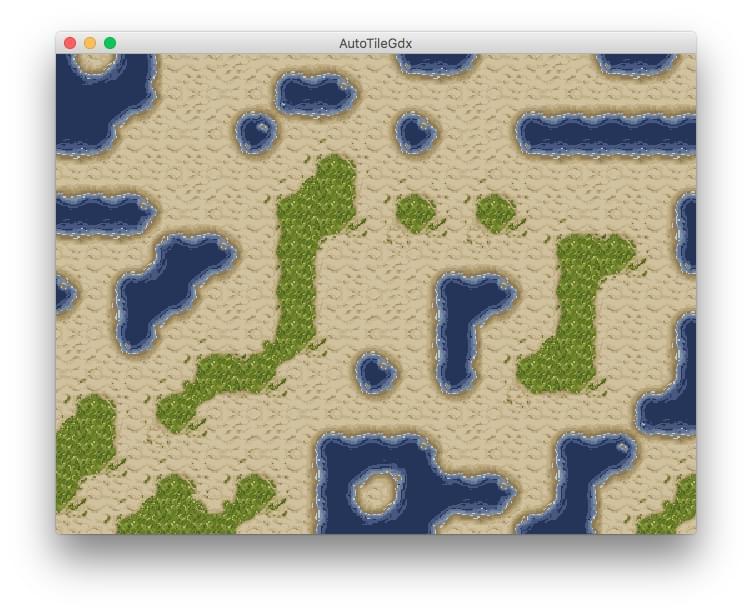 gpdev net - AutoTileGDX - LibGDX Procedural Terrain Auto-Tiler